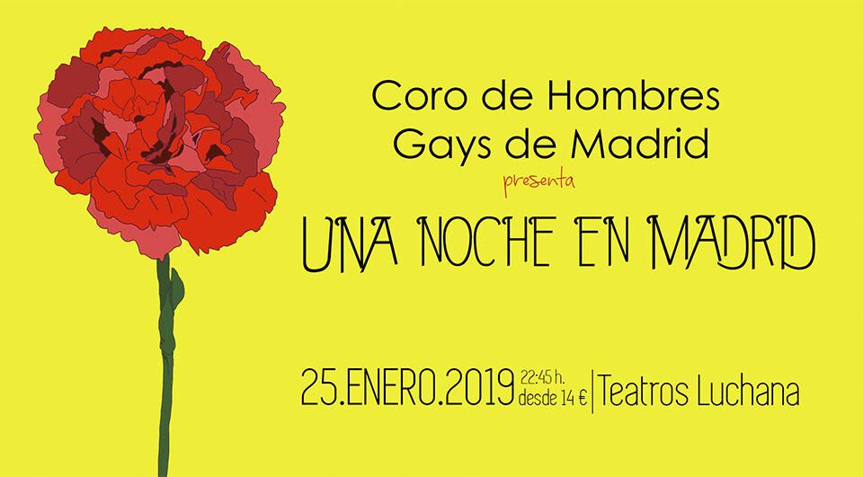 Coro de hombres gays de Madrid: Un noche en Madrid